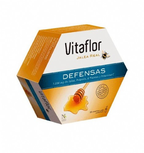 Jalea real defensas Vitaflor 20 amp
