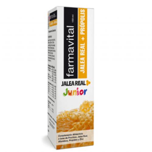 Farmavital junior jalea  real + propolis (150 ml)
