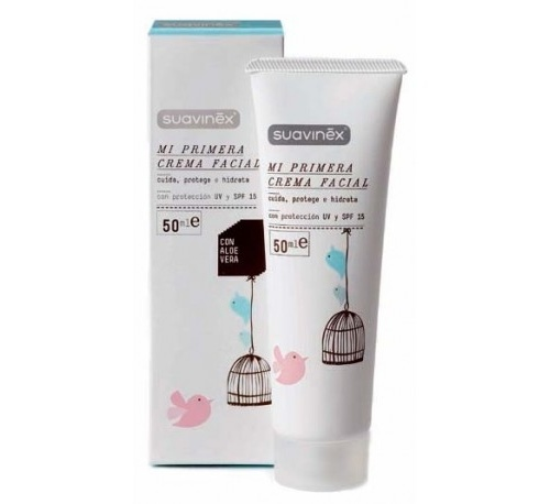 Suavinex mi primera crema facial (50 ml)