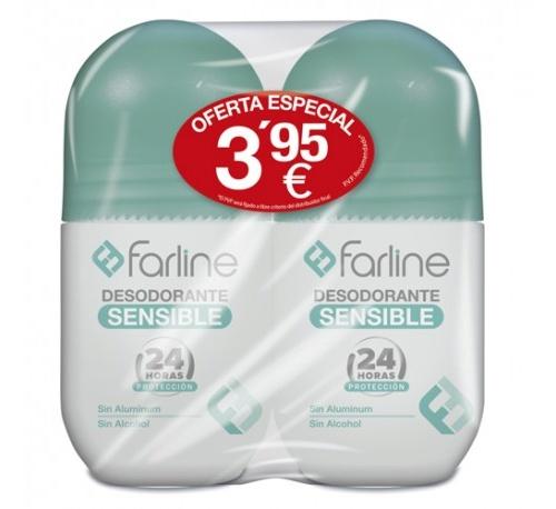 Duplo desodorante sensible