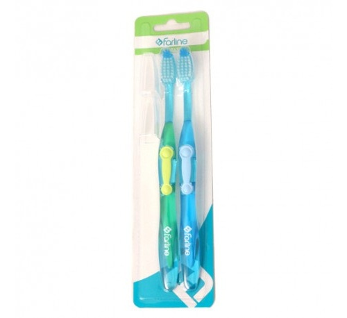 Cepillo dental - farline (suave pack 2 u)