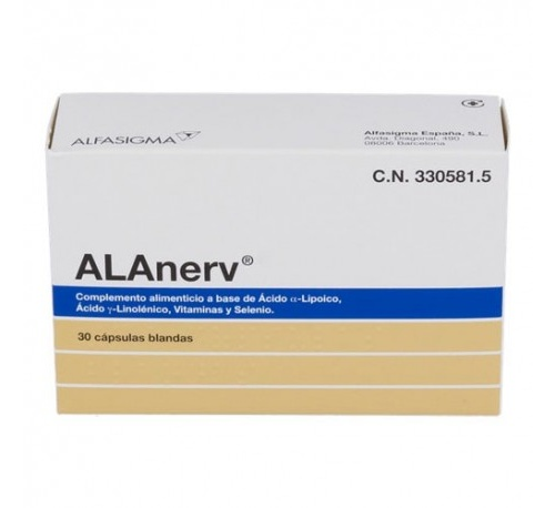 Alanerv (30 capsulas blandas)