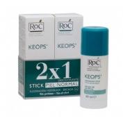 Roc keops desodorante sin alcohol (stick 40 g) Duplo