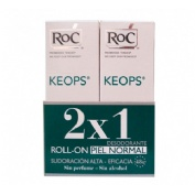 Roc keops desodorante sin alcohol (roll-on 30 ml) Duplo