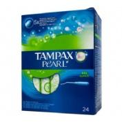 Tampax pearl tampon 100%algodon (super 24 u)