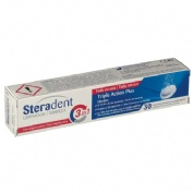 Steradent triple accion plus - limpieza protesis dental (30 comprimidos)