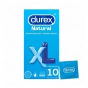 DUREX NATURAL XL - PRESERVATIVOS (12 U)