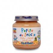 NUTRIBEN POLLO JAMON VERDURA (POTITO INICIO 130 G)