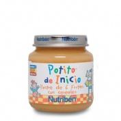 NUTRIBEN POSTRE DE 6 FRUTAS CON CEREALES (POTITO INICIO 130 G)