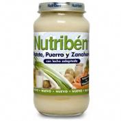 NUTRIBEN PATATA PUERRO ZANAHORIA (POTITO GRANDOTE 250 G)