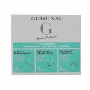 Germinal accion profunda - tratamiento hidratacion + nutricion + firmeza (36 ampollas)