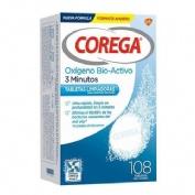 Corega oxigeno bio-activo - limpieza protesis dental (108 tabletas)