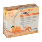 SUERO ORAL NORMON PACK (NARANJA 250 ML 2 U)
