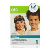 Otc pack tto completo antipiojos permetrina 1.5% (Locion y champu)