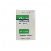 Cloruro potasico orravan (30 comprimidos)