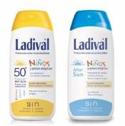 Ladival niños fotoprotector fps 30 leche (Pack duplo 200 ml+ 200 ml)