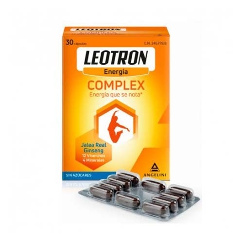 Leotron complex angelini (30 capsulas)