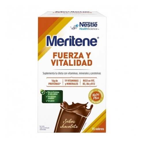 Meritene (15 sobres 30 g sabor chocolate)