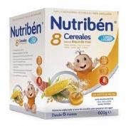 NUTRIBEN 8 CEREALES Y MIEL C LECHE ADAPTADA (600 G)