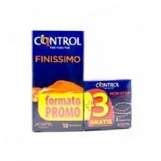 CONTROL FINISSIMO - PRESERVATIVOS (12 U)