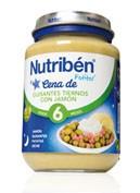 NUTRIBEN CENA CREMA GUISANTES CON JAMON (POTITO JUNIOR 200 G)
