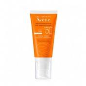 Avene spf 50+ crema muy alta proteccion (1 envase 50 ml sin perfume)