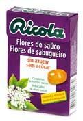 Caramelos ricola flor sauco  sin azucar  50 g