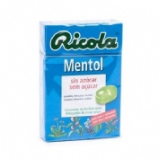 RICOLA CARAMELOS SIN AZUCAR (MENTOL 50 G)