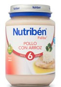 NUTRIBEN POLLO CON ARROZ (POTITO JUNIOR 200 G)
