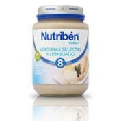 NUTRIBEN VERDURA SELECTA Y LENGUADO (POTITO JUNIOR 200 G)
