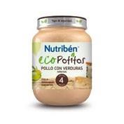 NUTRIBEN ECO POLLO CON VERDURAS SELECTAS (POTITO 130 G)