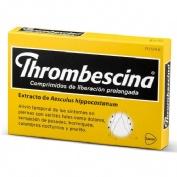 THROMBESCINA COMPRIMIDOS DE LIBERACION PROLONGADA , 50 comprimidos
