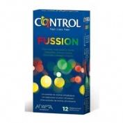 CONTROL SEX SENSES - PRESERVATIVOS (FUSSION 12 U)