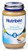 NUTRIBEN MERLUZA CON VERDURA (POTITO GRANDOTE 250 G)