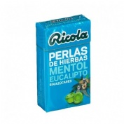 RICOLA PERLAS SIN AZUCAR (EUCALIPTUS 25 G)