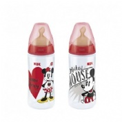 BIBERON PP LATEX - NUK FIRST CHOICE (300 ML DISNEY MICKEY 0-6 M)