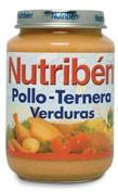 NUTRIBEN POLLO TERNERA VERDURA (POTITO JUNIOR 200 G)