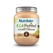 NUTRIBEN ECO SELECCION PLATANO Y MANZANA (POTITO INICIO 130 G)