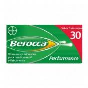 Berocca performance (frutos rojos 30 comprimidos efervescentes)