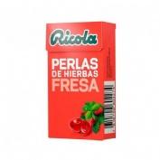 RICOLA PERLAS SIN AZUCAR (FRESA 25 G)