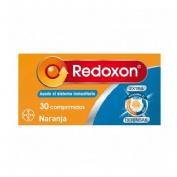 Redoxon extra defensas vitamina c + zinc (naranja 30 comp ef)